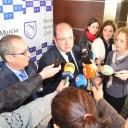 El Presidente de la Región de Murcia, en Seniors Club