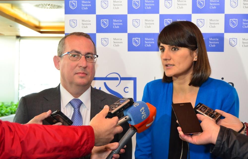 """María González Veracruz: """"La financiación autonómica injusta perjudica a Murcia"""""""
