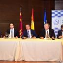 Teodoro García y Francisco Bernabé, candidatos al Congreso por el PP, son optimistas ante el fragmentado escenario político previsto para las Elecciones del 26 J