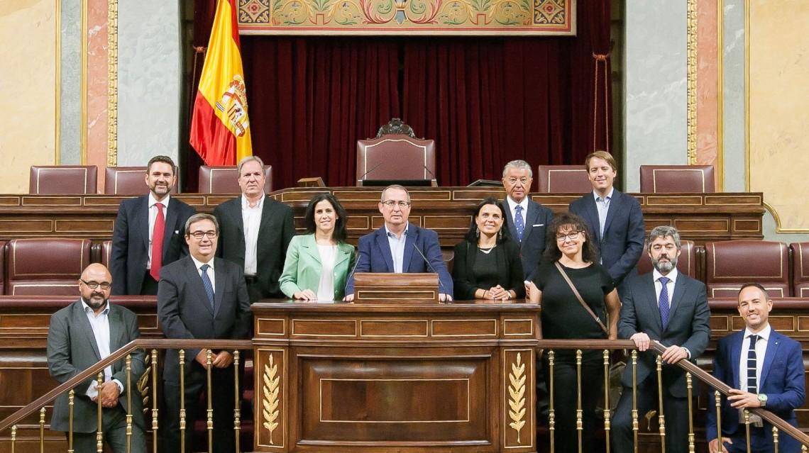 Murcia Seniors Club visita el Congreso de los Diputados
