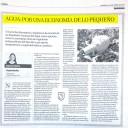 AGUA: POR UNA ECONOMÍA DE LO PEQUEÑO. Raquel Muñoz. Artículo publicado en La Opinión