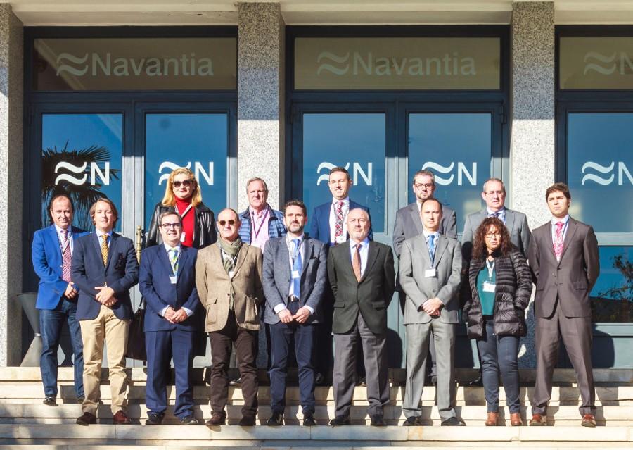 """""""Navantia es con seguridad la primera empresa tecnológica por inversión total en I+D+i de la Región de Murcia y una de las industrias 4.0 en generación de software y hardware propios"""""""
