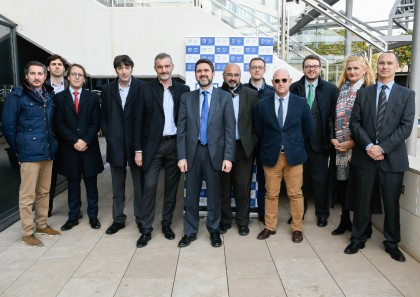 Urralburu y Esteban Palazón, responsables de finanzas de Podemos,  han analizado con Murcia Sociedad Civil las elecciones 2019 y los retos económicos para la legislatura