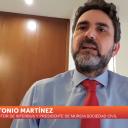 Antonio Martínez, presidente de Murcia Sociedad Civil en7 TVrm