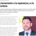 ARTÍCULO EN LA OPINIÓN DE MURCIA. Llamamiento a la esperanza y a la cordura. Antonio Martínez, presidente MSC